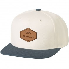 RVCA What Snapback Hat - Eggshell