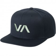RVCA VA Snapback II Hat - Night Blue