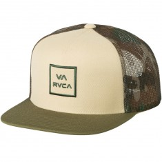RVCA All The Way Trucker Hat - Light Khaki