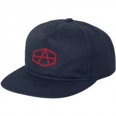 RVCA Reynolds USA Snapback Hat - Navy
