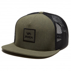 3a297825c7e58 RVCA VA All The Way Trucker Hat - Green Heather