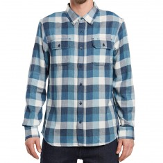 Vans Alameda Long Sleeve Shirt - Dress Blues/Blue Ashes