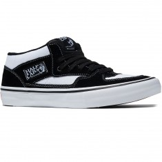 Vans Half Cab Pro Shoes - White/Black/White