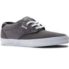Vans Chima Estate Pro Shoes - Suede Pewter/White