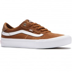 Vans Style 112 Pro Shoes - Tobacco/White