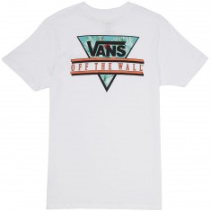 Vans Retro Tri T-Shirt - White