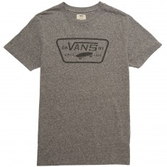 Vans Triblend Full Patch T-Shirt - Heather Grey