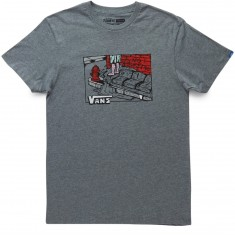 Vans Couch Surfer T-Shirt - Heather Grey