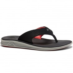 Reef Rover Sandals - Grey/Black/Red