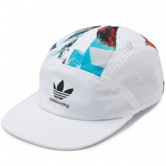Adidas Courtside Hype Hat - White/Multi