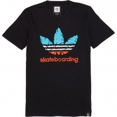 Adidas Courtside Clima 3.0 T-Shirt - Black/Energy Blue/White