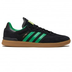 Adidas Samba ADV X Rodrigo Shoes - Core Black/Green/Gum