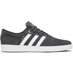 Adidas Silas Vulc Shoes - Solid Grey/White/Gold