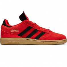 Adidas Busenitz Shoes - Scarlet/Core Black/Gum