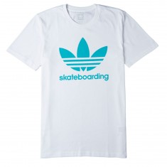 Adidas Clima 3.0 T-Shirt - White/Shock Green