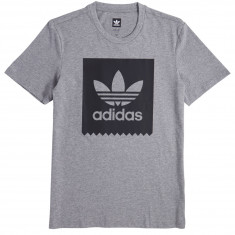 Adidas Solid BB T-Shirt - Heather/Black