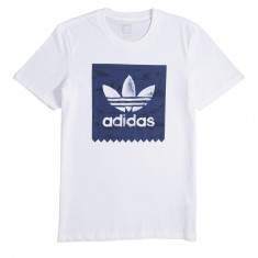 Adidas BB Haven T-Shirt - White/Noble Indigo