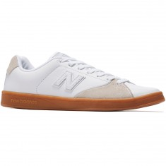New Balance 505 Shoes - White/Gum