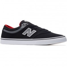 New Balance Quincy 254 Shoes - Black/Grey/Red
