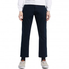 Imperial Motion Federal Cropped Chino Pants - Navy