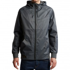 Imperial Motion Welder Nct Windbreaker Jacket - Asphalt