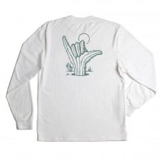 Imperial Motion Cacti Longsleeve Vintage T-Shirt - White