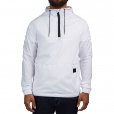 Imperial Motion Bezel Packable Anorak Jacket - White