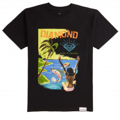 Diamond Supply Co. Fishing For Compliments T-Shirt - Black 49fca7ba62de