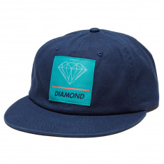 27a675922bf65 Diamond Supply Co. 6 Panel Unstructured Snapback Hat - Teal