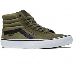 Vans Sk8-Hi Pro Shoes - Dakota Roche Burnt Olive/Black