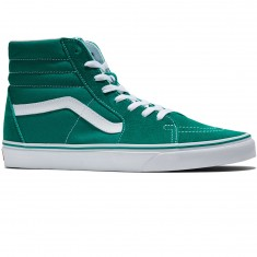 Vans Sk8-Hi Shoes - Ultramarine Green/True White