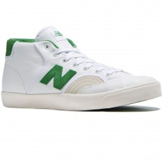 New Balance Numeric Pro Court 213 Shoes - White/Garden Green