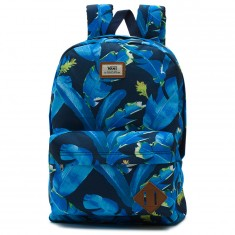 Vans Old Skool II Backpack - Dress Blues Bonsai Leaf