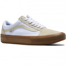 Vans Old Skool Pro Shoes - Turtledove/Gum