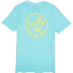 Vans Vintage Mini Palm T-Shirt - Aqua Sky