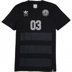 Adidas Darby T-Shirt - Black/White/Solid Grey