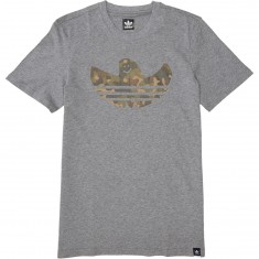 Adidas Camo Shmoo T-Shirt - Core Heather/Camo Print
