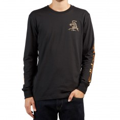 Adidas Eastern Longsleeve T-Shirt - Black/Tactile Gold
