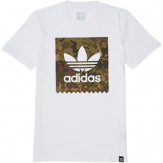 Adidas Logo Remix 3 T-Shirt - White