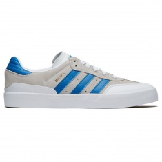 Adidas Busenitz Vulc Rx Shoes - Crystal White/Bluebird/White