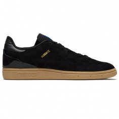 Adidas Busenitz RX Shoes - Black/Gum/Gold Metallic