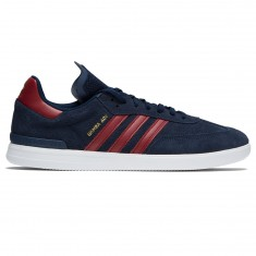 Adidas Samba ADV Shoes - Collegiate Navy/Collegiate Burgundy/White