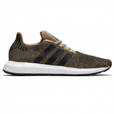 Adidas Swift Run Shoes - Raw Gold/Black/White