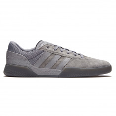 Adidas City Cup Shoes - Grey/Grey/Gold Metallic