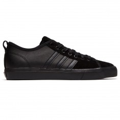 Adidas Matchcourt RX Shoes - Black/Black/Silver Metallic