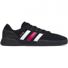 Adidas City Cup Silvas Shoes - Core Black/Scarlet/White