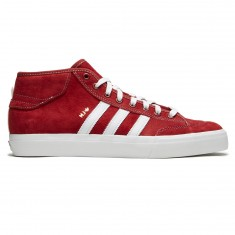Adidas Matchcourt X MJ Shoes - Mystery Red/Crystal White/Gold Metallic