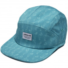 Adidas Athleisure 5 Panel Hat - Shock Green