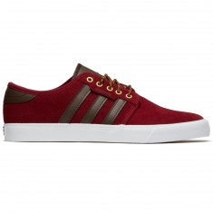 Adidas Seeley Shoes - Collegiate Burgundy Brown White f74d077bf