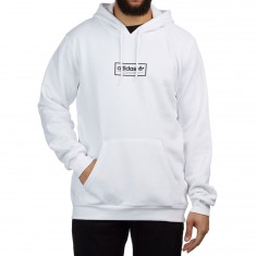 Adidas Spell Out Hoodie - White/Black